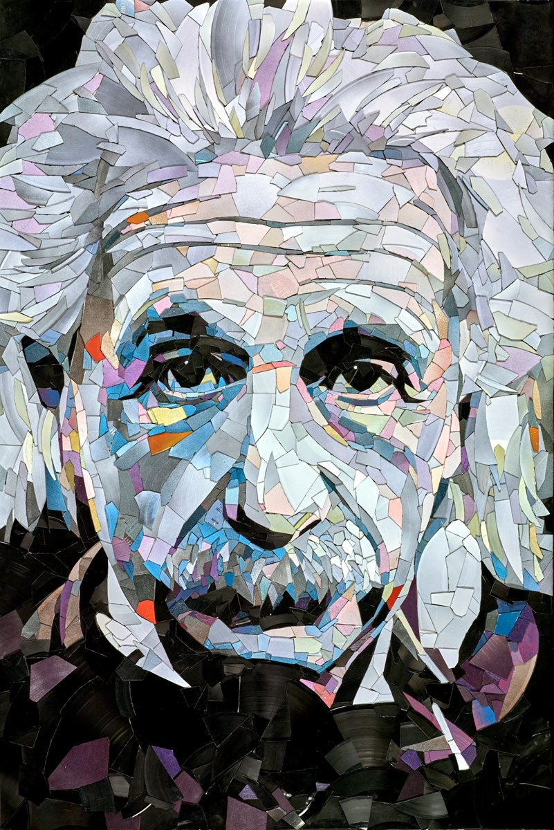 Albert Einstein by ed chapman -  sized 28x41 inches. Available from Whitewall Galleries